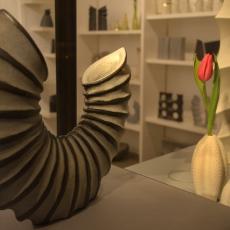 Ausstellung - Frank Schillo und Lauren Geissler, Foto: Burat
