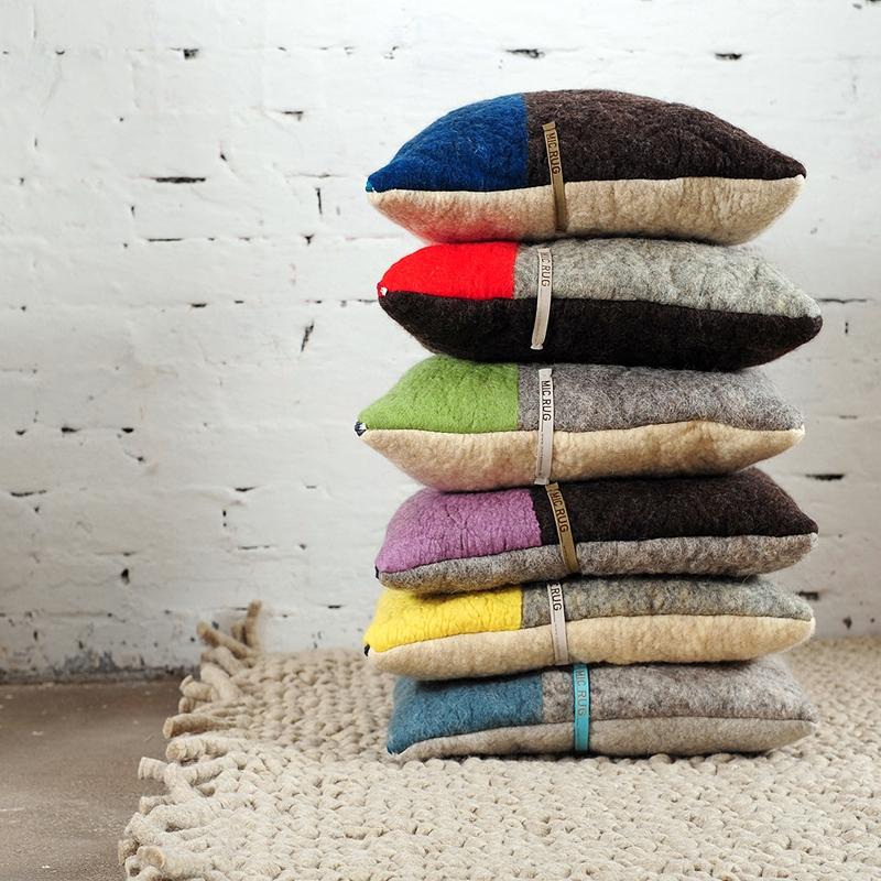 Kissen und Teppich, Textil-und Flächendesignerin Michelle Mohr