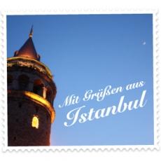 Mit Grüßen aus Istanbul